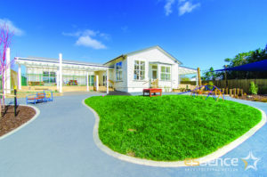 Completed Educare and playground