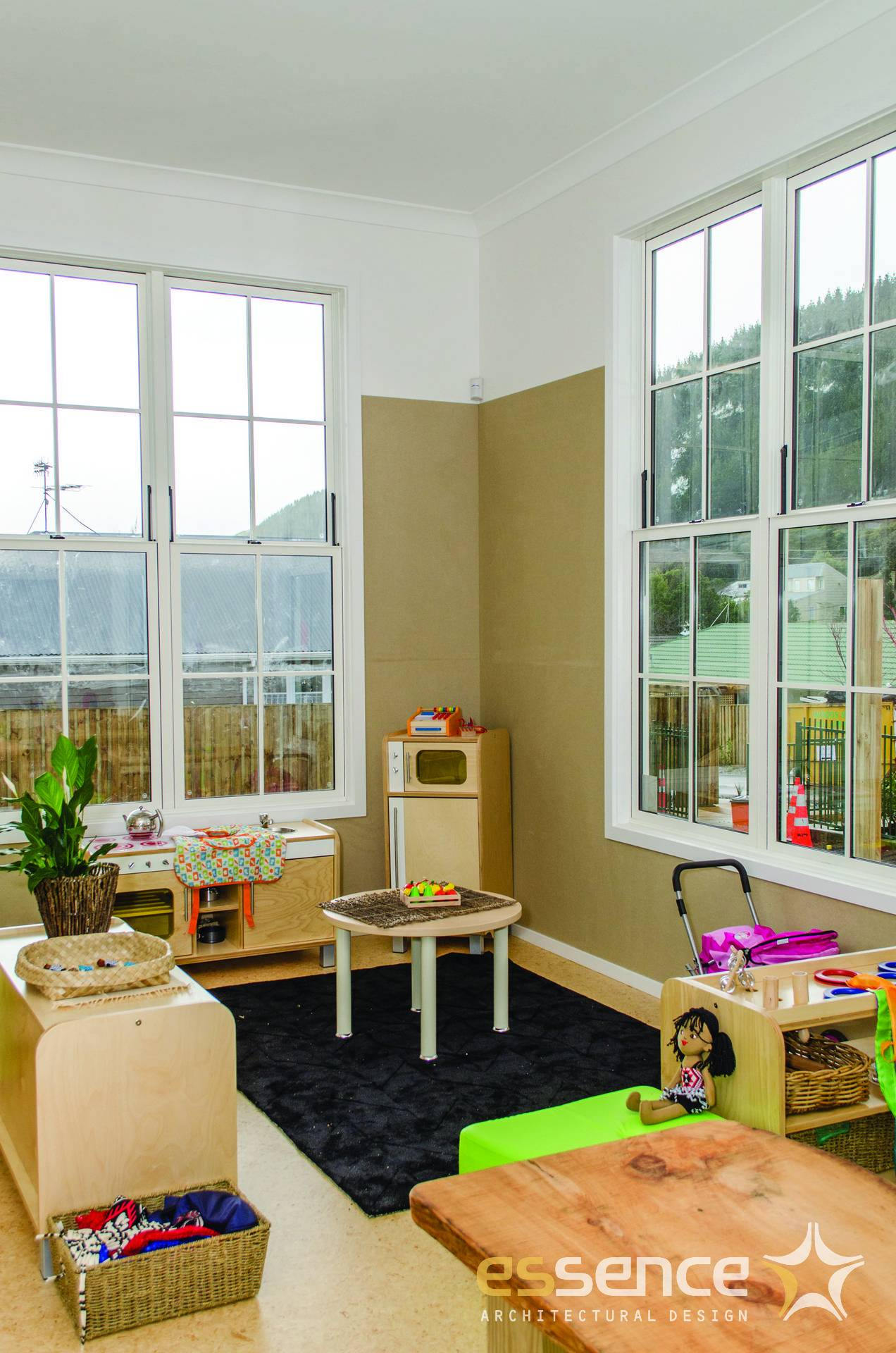 Interior childrens area for older ages